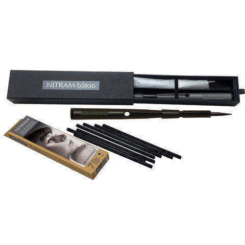 Nitram Charcoal Baton With 5/Mignettes