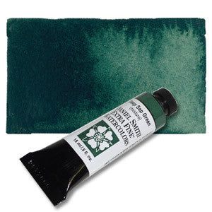 Deep Sap Green (PO48 PY3 PB27) 15ml Tube, DANIEL SMITH Extra Fine Watercolor