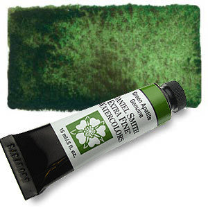 Green Apatite Genuine 15ml Tube, DANIEL SMITH Extra Fine Watercolor