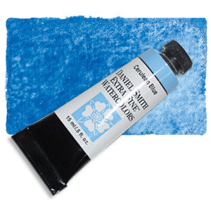 Cerulean Blue (PB35) 15ml Tube, DANIEL SMITH Extra Fine Watercolor