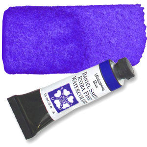 Ultramarine Blue (PB29) 15ml Tube, DANIEL SMITH Extra Fine Watercolor