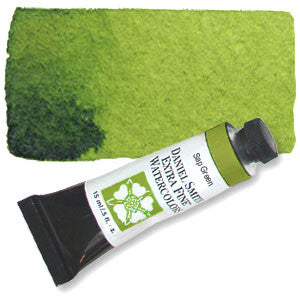 Sap Green (PO48 PG7 PY150) 15ml Tube, DANIEL SMITH Extra Fine Watercolor