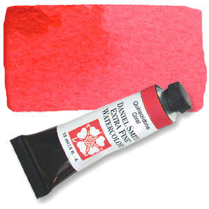 Quinacridone Coral (PR209) 15ml Tube, DANIEL SMITH Extra Fine Watercolor