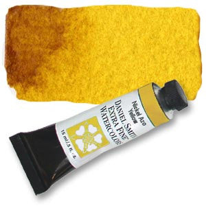 Nickel Azo Yellow (PY150) 15ml Tube, DANIEL SMITH Extra Fine Watercolor
