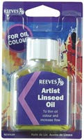 Reeves Artist Linseed Oil 2.54 oz