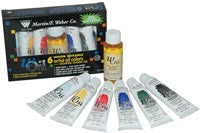 wOil Water Mixable Oil Color Sets with Linseed Oil