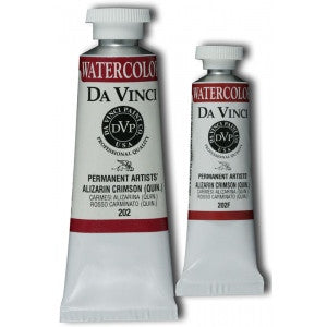 Dav Vinci Watercolor 15 ML - Alizarin Crimson (Quin.)