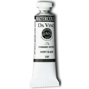 Da Vinci Watercolor 15 ML - Ivory Black