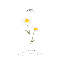Load image into Gallery viewer, Birth Flower Print