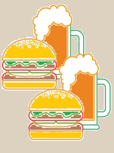 The Te Aro Toofa - Save $5 on Two Burgers and a Rigger of Te Aro Beer