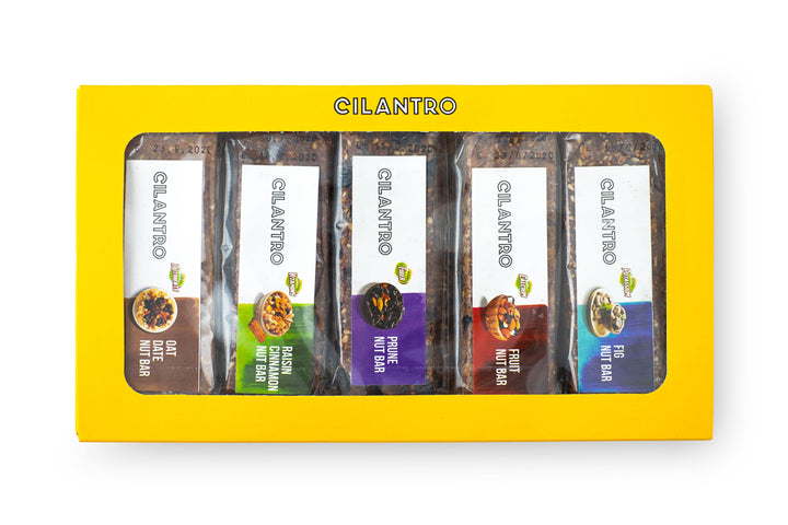 Cilantro's Signature Artisanal Energy Bars (Box of 10) Cilantro