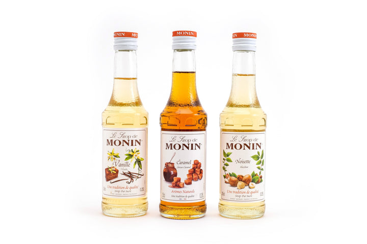 Monin Syrups Package (3 x 250ml) Packages & Kits Cilantro