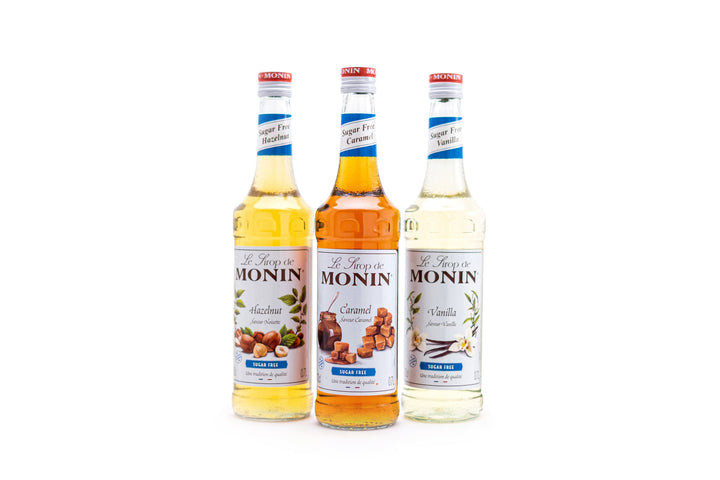 Sugar-Free Flavored Monin Syrup (700ml Bottle) Cilantro