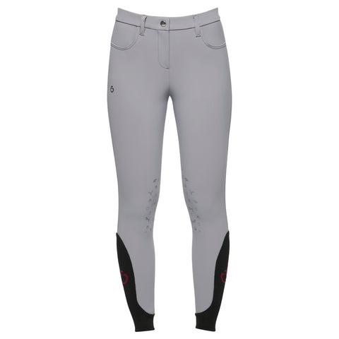 Cavalleria Toscana Girls Horse and Helmet Breeches - White or Grey