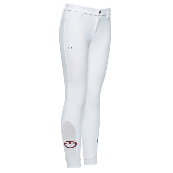 Cavalleria Toscana's classic unisex children's breech in white.  Fabulous fit, stylish and comfortable. Everything you would expect from CT.