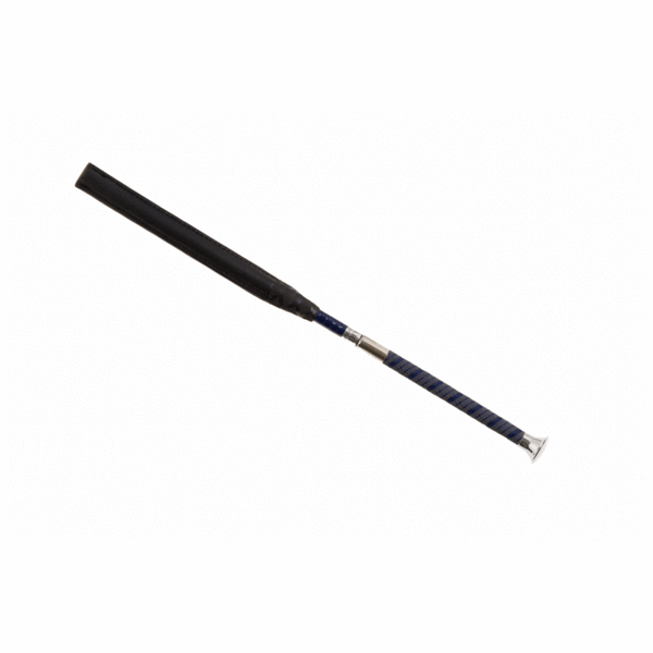 Darley equestrian whips are BS and BRC legal whips. The York has a slim grip handle with silver top and comes in navy