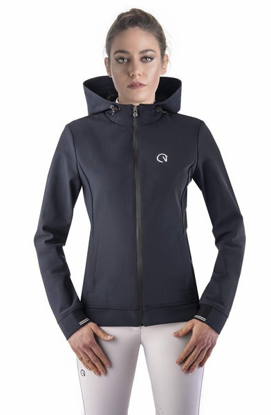 The EGO7 Performance Hoody jacket is the perfect jacket for the stables and out and about. has a flattering fit. Once you've worn it you wont want to take it off!  Its one of our best selling jackets!  The Italian fabric is very stretchy so allows maximum freedom of movement whilst riding or on the yard. The Fit is extremely flattering and comfortable to wear. The hoody holds it shape so always looks good.  Its machine washable and drys quickly so great to have at the shows!