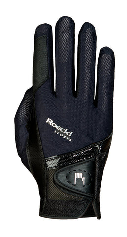 Roeckl Black Madrid riding Glove