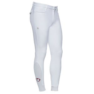 Cavalleria Toscana Mens System Grip breeches in White