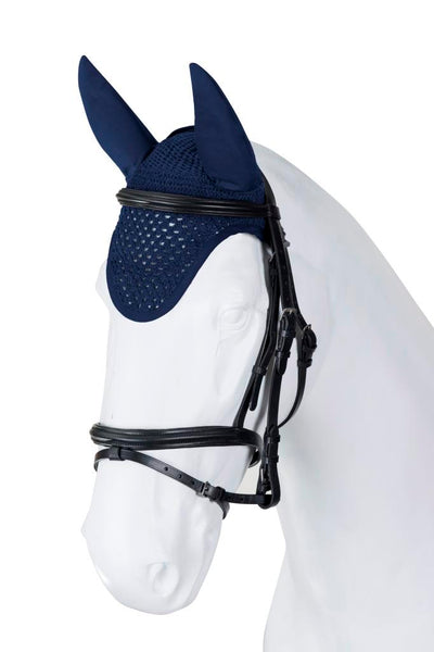 Torpol Top Luxury Fly Vale in navy blue with Elastic ears for a great fit and bound edging. Available to customise.