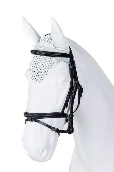Torpol Top Luxury Fly Vale in white with Elastic ears for a great fit and bound edging. Available to customise.