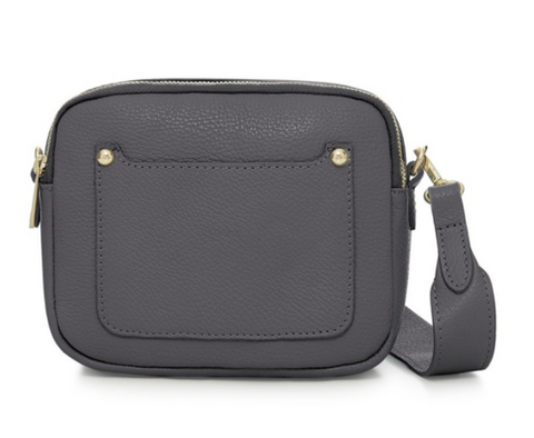 Reduced Was £49 NOW only £39! Leather wide strap cross over bag