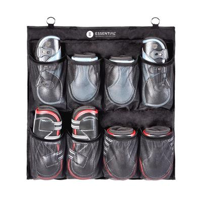 The Equifit Hanging boot organiser is a must have at the yard or at Shows. The Equifit boot hanger comes in 2 different sizes for convenient storage for all of your horse boots and equipment. It easily hangs at the yard or stable with two large rings. The innovation, support and quality you expect from EquiFit.