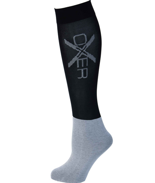 OXER riding socks have developed a range of sock by riders for riders.  They believe their socks enhances your performances so you can reach the highest potential. Made and woven with the finest quality materials available, this offers you the best comfort possible whilst riding and on the yard. Oxer strives to manufacture and offer the most durable and comfortable horse riding socks available.