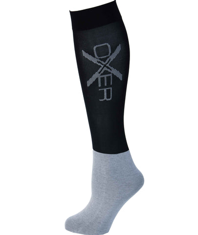 Oxer Socks Black- Pack of 3