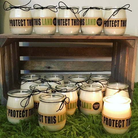 Earth Day Candles