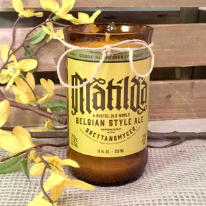 Matilda Beer Candle