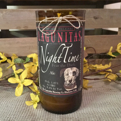 Lagunitas Night Time Candle
