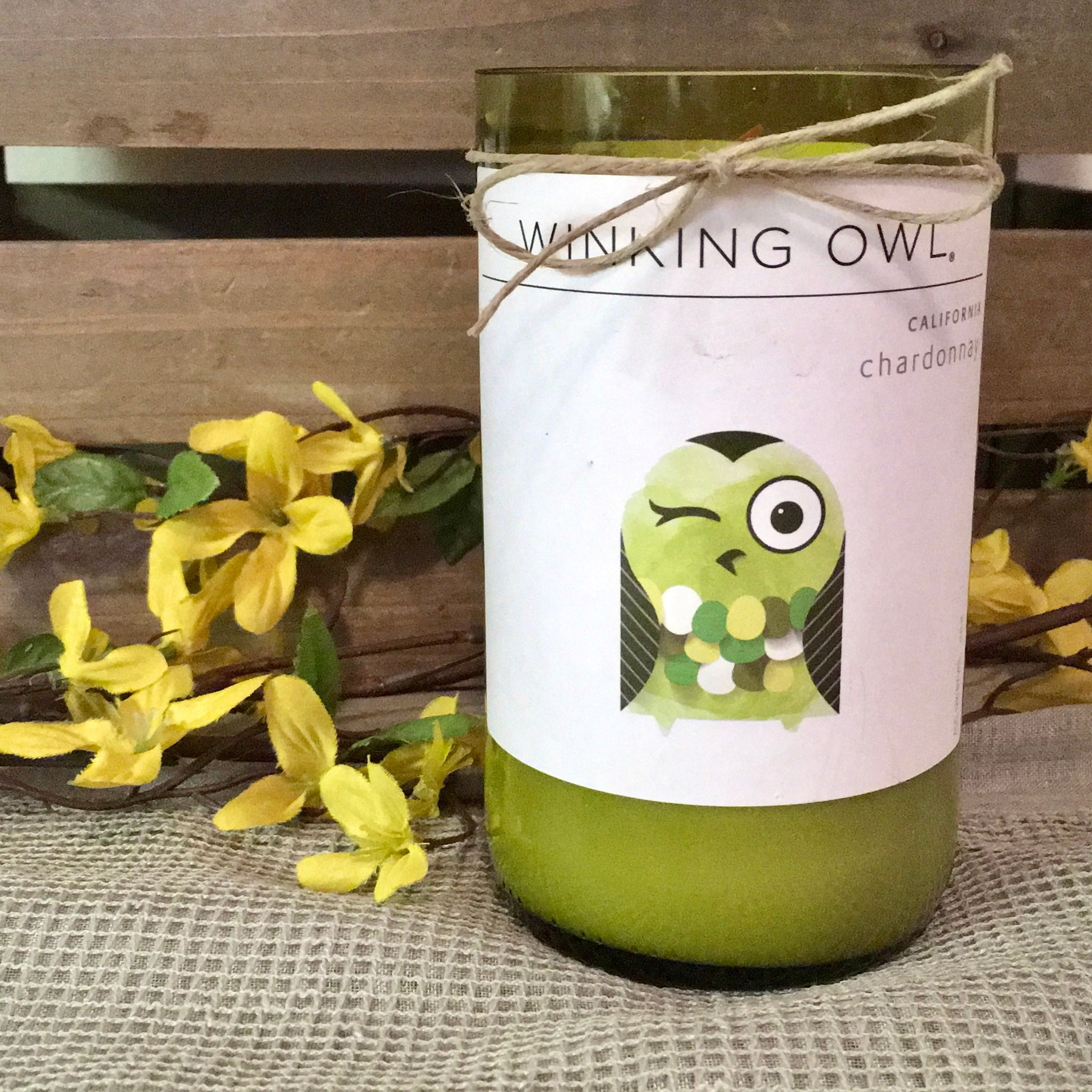 Winking Owl Candle