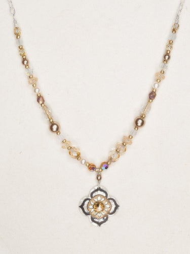 Gypsy Bloom Beaded Necklace - Accent's Novato