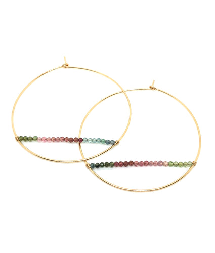 Mondrian Hoop earrings - Accent's Novato