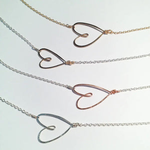 Tiny Heart Necklace - Accent's Novato