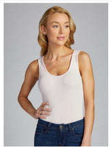 Load image into Gallery viewer, Bamboo Double Scoop Tank One Size -Assorted Colors - Accent's Novato