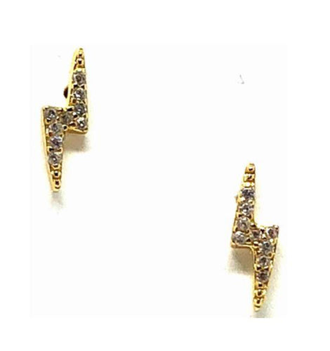 Lightning Bolt Earrings - Accent's Novato