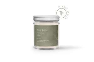 Tule Fog Candles- Assorted Scents - Accent's Novato