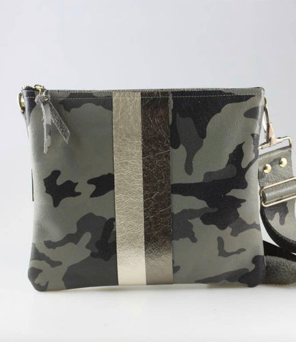 The Taylor Crossbody Camo - Accent's Novato