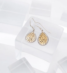 Be A Light Teardrop Concave Earrings (Mini) - Accent's Novato