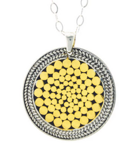 Be A Light French Wrap Pendant - Accent's Novato