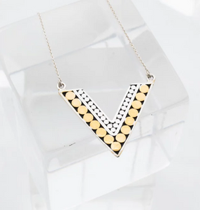 Double Life Value Yourself Necklace - Accent's Novato