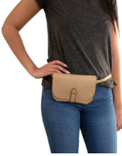 Load image into Gallery viewer, Harper Convertible Cross Body /Belt Bag - Accent's Novato