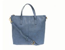 Load image into Gallery viewer, Kim Top Zip Medium Tote - Accent's Novato