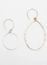Load image into Gallery viewer, Tumbleweed Oval Essential Hoop Earrings - Accent's Novato