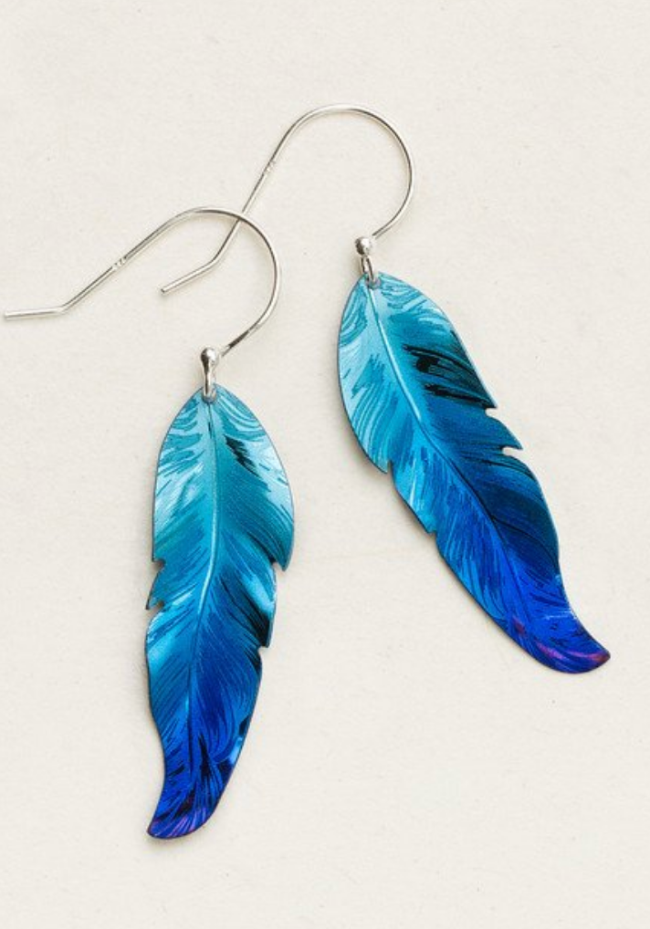 Free Spirit Feather Earrings - Accent's Novato
