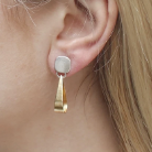 Load image into Gallery viewer, Loop Earring - Accent's Novato