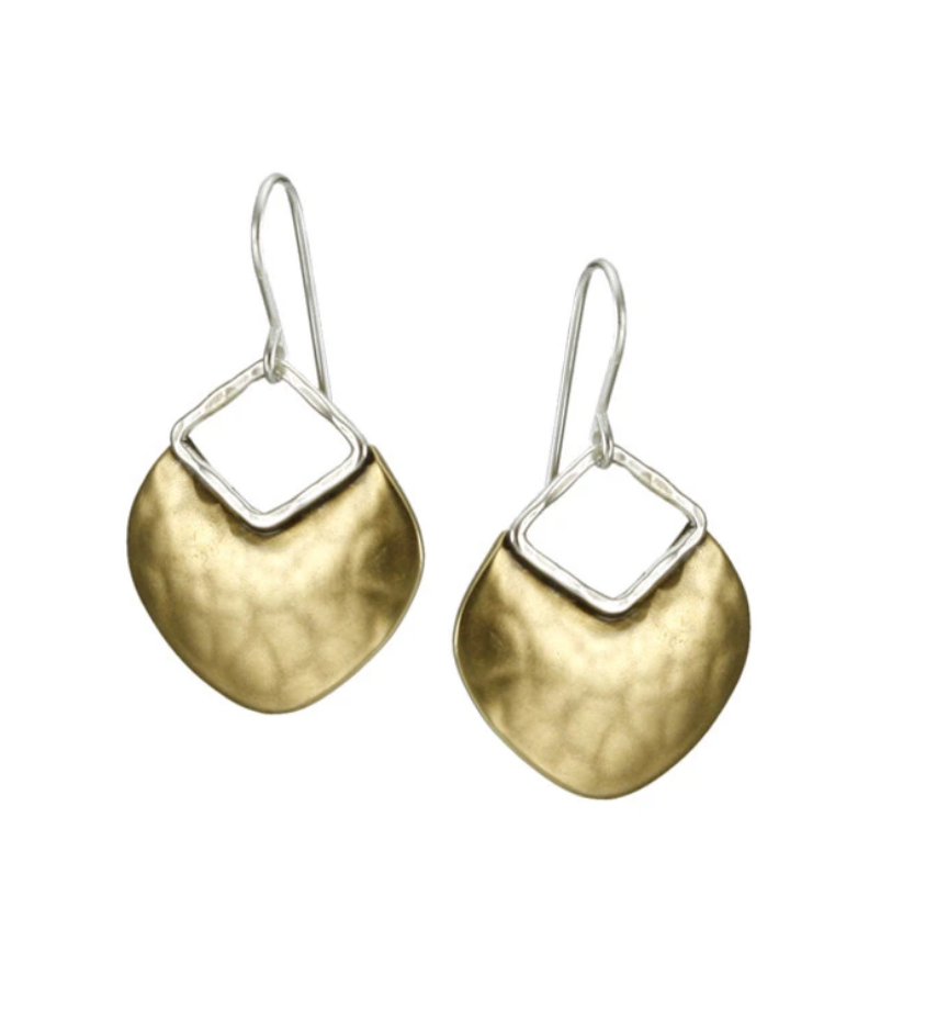 Organic Disc Earrings - Accent's Novato