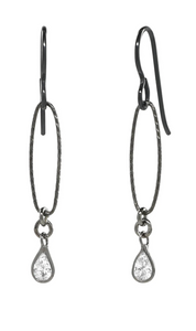 Oval LInk Earrings - Accent's Novato